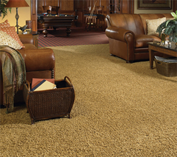Working with Florence Carpet & Tile and Karastan you can customize your home with beautiful broadloom carpets.